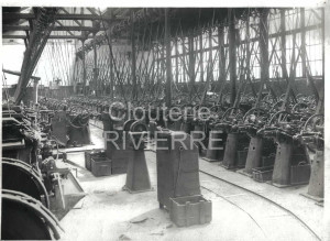 pointerie vers 1925 - Usine Rivierre - Creil